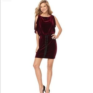 Jessica Simpson wined cocktail dress